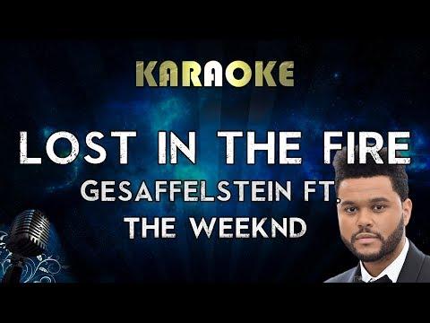 The Weeknd - Lost In The Fire (Karaoke Instrumental) ft. Gesaffelstein