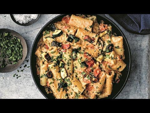 How To Make Dairy-Free Mac & Cheese With Roasted Vegetables   Michael Symon