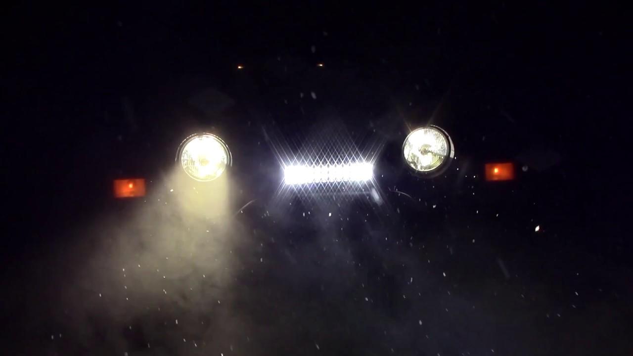 1997 2006 Jeep Wrangler Tj Fog Lights With High Beams Led Bar Kc Wiring Diagram To Highbeem Installation
