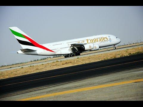 Emirates Airbus A380 lands in Tehran | Emirates Airline