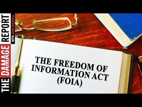 How The Freedom Of Information Act Works