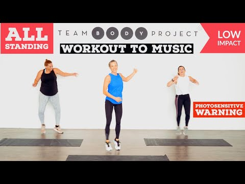 5-Move Low Impact Intense Workout