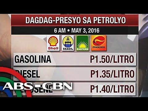 TV Patrol: Halos P2 oil price hike, epektibo ngayong linggo