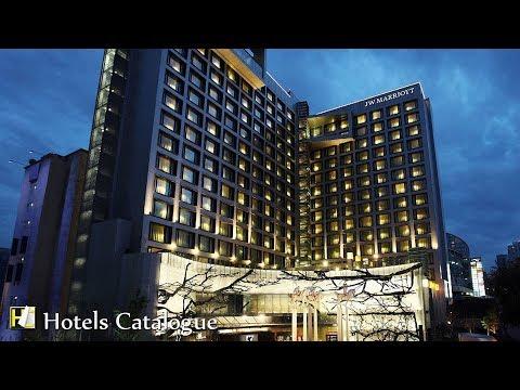 JW Marriott Hotel Mexico City Santa Fe Hotel Tour - Luxury Hotels in Santa Fe, Mexico City