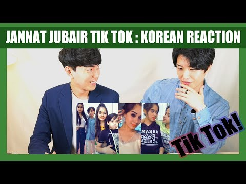 indian-tik-tok-reaction-by-korean-dost- -jannat-zubair- -tik-tok-india