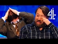 everyone completely loses it after jimmy 39 s unnecessary joke 8 out of 10 cats does countdown