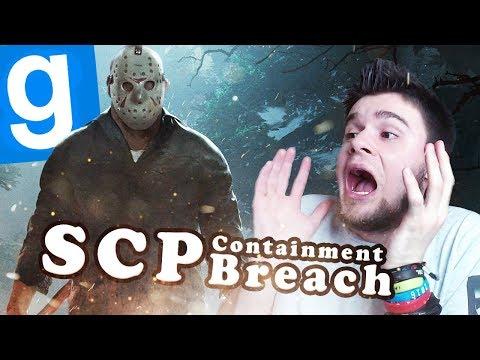 ZAATAKOWAŁ NAS JASON Z PIĄTKU 13! | SCP: Containment Breach [#83] Garry's mod [#769]