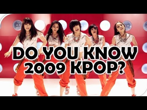 Kpop Quiz: DO YOU KNOW 2009 KPOP? #1