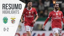 Highlights | Resumo: Sporting 0-2 Benfica (Liga 19/20 #17)