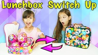 The LUNCHBOX SWITCH UP CHALLENGE with 5 SURPRISE