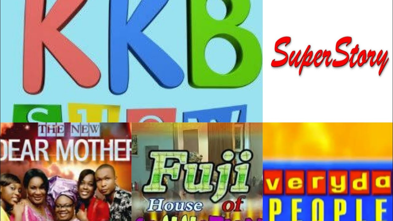Old Nigeria TV series theme song. Superstory,This life, face2face,Fuji house of commotion