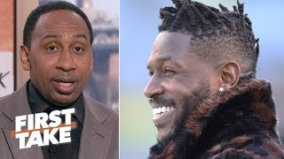 Antonio Brown was wrong to rip Emmanuel Sanders - Stephen A. | First Take thumbnail