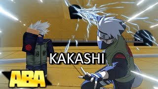Kakashi Showcase in Anime Battle Arena! | Roblox