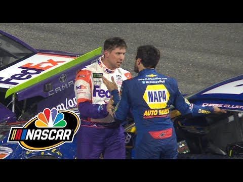 denny-hamlin-makes-gentlemanly-gesture-toward-jimmie-johnson-|-splash-&-go-|-motorsports-on-nbc