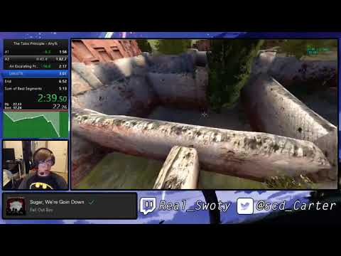 The Talos Principle Any% Messenger Ending 60 FPS in 6:33.47 |