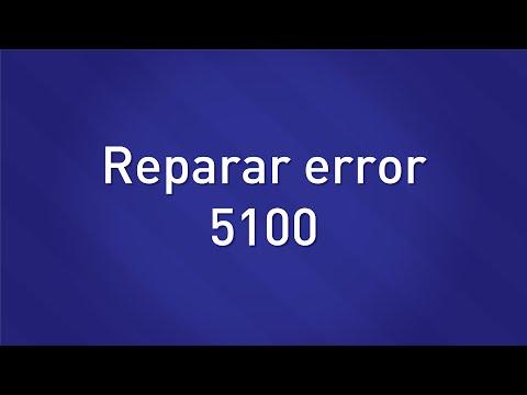 Reparar Error 5100 - Disershop