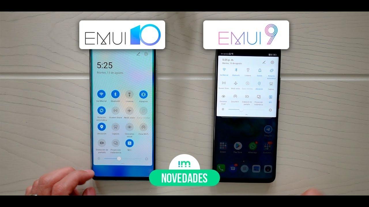 NOVEDADES en EMUI 10 vs EMUI 9 | Huawei