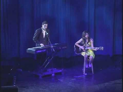 Seychelle Gabriel and Ben Byram performing