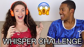 FUNNIEST WHISPER CHALLENGE (GIRL VS GUY)