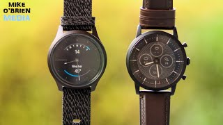 FOSSIL HR vs. GARMIN VIVOMOVE STYLE (Hybrid Watch Comparison) - Honest and in-depth