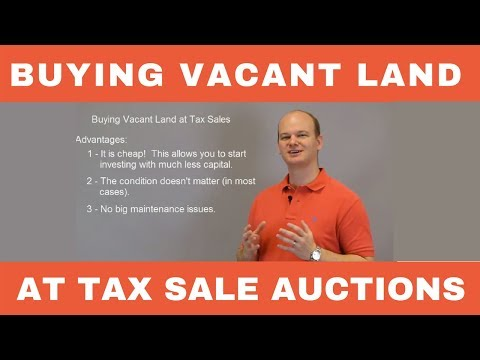 Buying Vacant Land at Tax Deed Sales