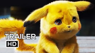 POKEMON: DETECTIVE PIKACHU Official Trailer (2019) Ryan Reynolds, Live Action Movie HD