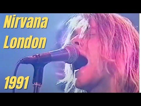 Nirvana - Territorial Pissings - Live London 1991 720p HD mp3