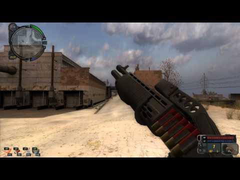 Stalker CoP, Shoker Weapons Mod, Franchi SPAS-12
