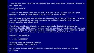 Wow Has BSOD (My Version)