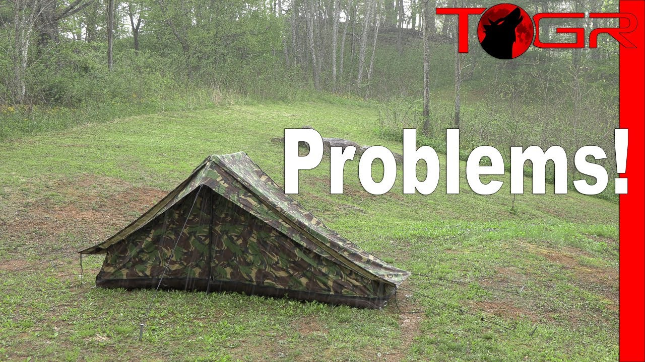 uk availability 861c6 6aaef DON'T BUY - Military Tent Failure! - Dutch Special Forces 2 Man Tent