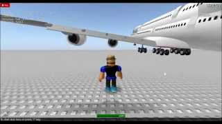 Emirates Airlines Showing Fleet(ROBLOX)