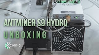 Unboxing Antminer S9 Hydro miner