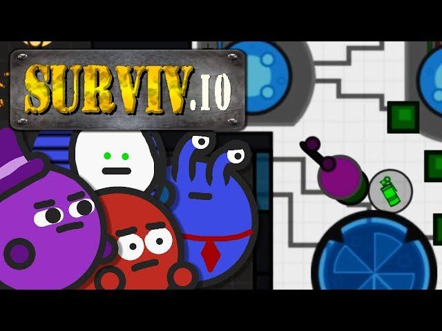 Todeskampf im Bunker! | Surviv.io