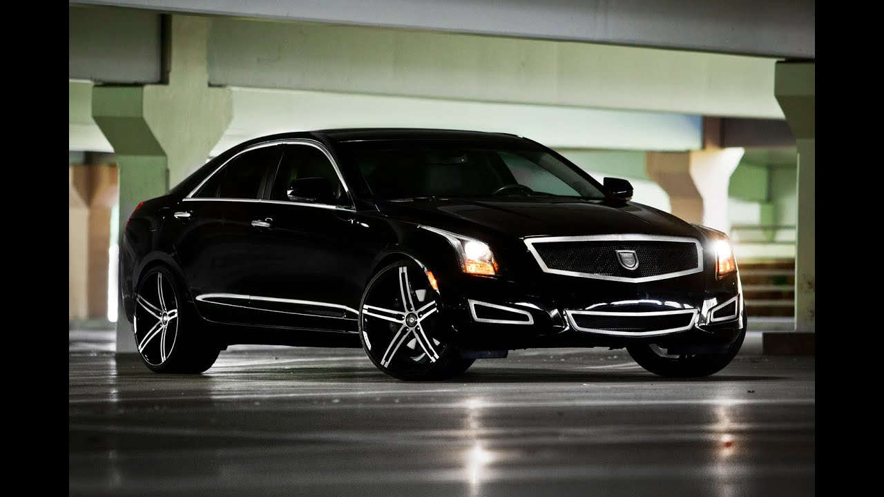 "2014 Cadillac ATS on 20"" Lexani Wheels - YouTube"