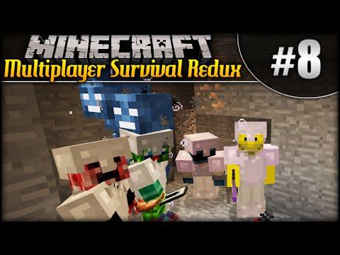 Minecraft: Multiplayer Survival Redux...