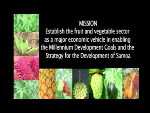 Fruit and vegetable sector in Samoa