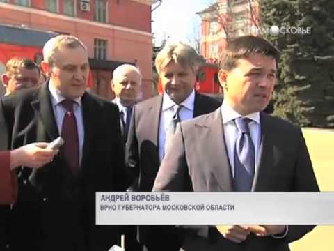 Андрей Воробьев посетил Коломну
