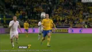 Sweden Vs England 4 2 All Highlights And Goals 11 14 2012 HQ  Zlatan Ibrahimovic Show