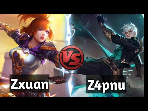 Zxuan vs Z4pnu! Who's More Faster? The Most Awaited Battle!