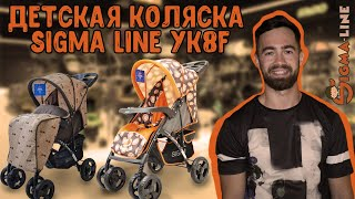 Детальный видео-обзор : Детская коляска сигма лайн YK8F