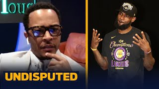 T.I. compares LeBron to Jay-Z, talks GOAT debate, his Atlanta Falcons and new album | UNDISPUTED