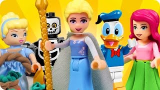 ♥ LEGO All Disney Characters CHARMED Compilation (Disney Princess, Donald Duck, Lego Friends..)