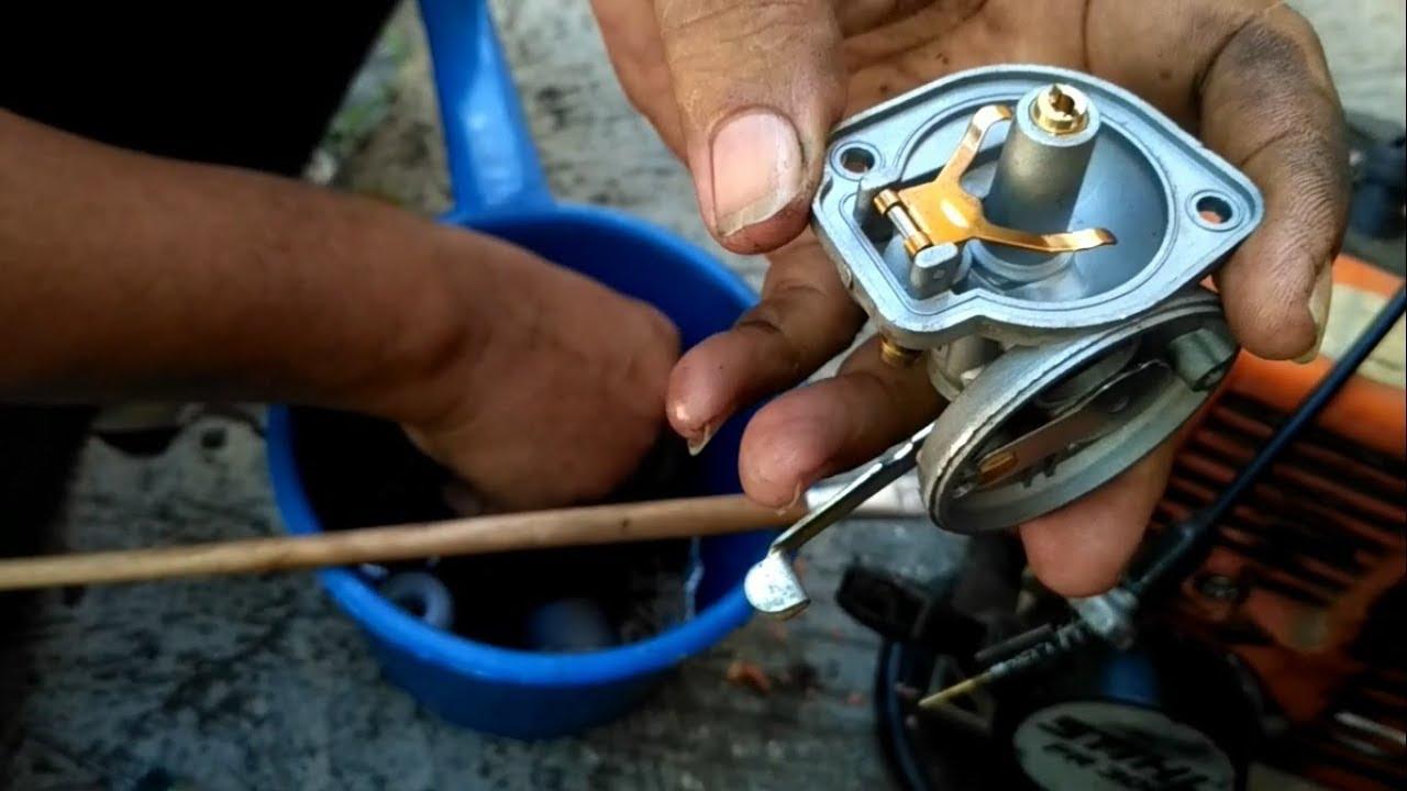 Service Karburator Mesin Potong Rumput Youtube Busi