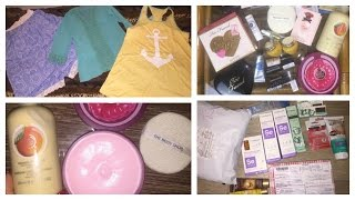 VLOG: покупки и посылки|Compliment* CNdirect*Too faced*Nina Ricci*The body shop*L'occitane*MUFE