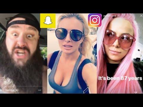 WWE SnapchatInstagram ft Liv Morgan, Mandy Rose, Braun Strowman, Sheamus, Cesaro, Miz n MORE