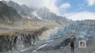VIDEO HIKING: Chamonix - Glacier d'Argentiere (English/French Subtitle)