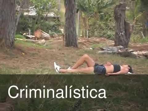 Simulacro de Inspeccion y Levantamiento de Cadaver Criminalistica