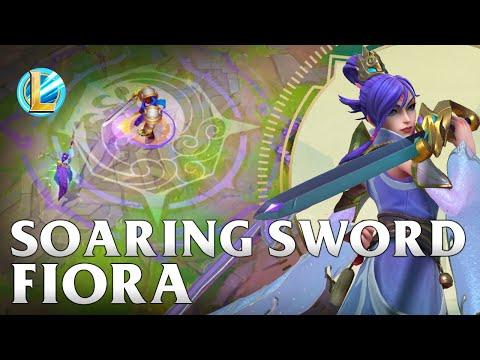 Soaring Sword Fiora Skin Spotlight - WILD RIFT