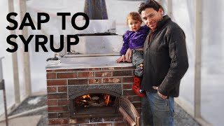 Homemade Brick Maple Evaporator | Ultra Fast and Extreme Efficiency