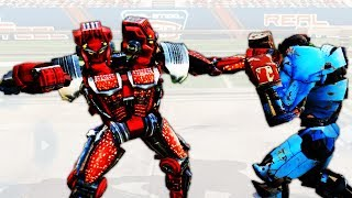 Twin Cities Real Steel STORY MODE - The Steel Bowl (Real Steel) (Живая Сталь)
